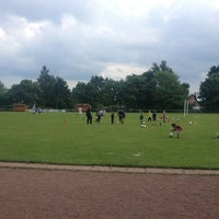 Photo taken at SV Fortuna St. Jürgen by Robert on 6/14/2013