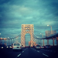 Photo taken at George Washington Bridge by Patrick P. on 12/22/2012