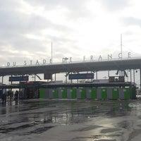 Photo taken at RER Stade de France Saint-Denis [D] by ANIS T. on 3/13/2013