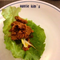 Photo taken at Auntie Kim's Korean Restaurant by Ted Patrick B. on 9/2/2014