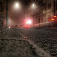 Photo taken at Fermata ACTV Via Carducci by Giuseppe B. on 1/12/2014