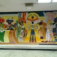 Photo taken at Metro Restauradores [AZ] by Alexandra R. on 2/1/2013