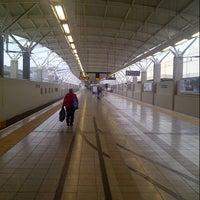 Photo taken at Gautrain Pretoria Station by Riaan O. on 12/14/2012