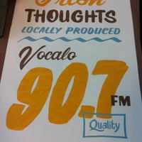 Photo taken at Vocalo 89.5 FM by Geoff S. on 7/9/2013