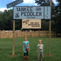 Photo taken at Yankee Peddler Festival by Hope M. on 9/7/2014