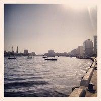 Photo taken at Dubai Creek by Kaleel R. on 6/5/2013