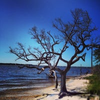 Photo taken at Innerarity Island by Nic M. on 10/7/2013