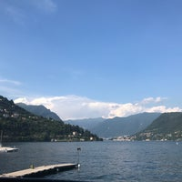 Photo taken at Lungolago di Cernobbio by Nadia A. on 7/15/2018