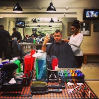 Photo taken at Mojo Barbershop by Scott B. on 3/19/2013