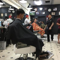 Photo taken at Mojo Barbershop by Scott B. on 1/17/2016