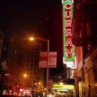 Photo taken at Curran Theatre by Scott B. on 9/28/2013