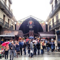 Photo taken at Mercat de Sant Josep - La Boqueria by Scott B. on 4/27/2013