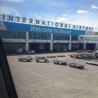 Photo taken at Francisco Bangoy International Airport (DVO) by Carmela Regina on 5/16/2013