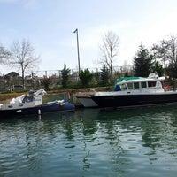 3/31/2013 tarihinde Alessia K.ziyaretçi tarafından Göksu Marine Restaurant'de çekilen fotoğraf
