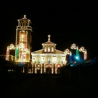 Photo taken at Minor Basilica of Our Lady of the Most Holy Rosary of Manaoag by Andrew M. on 1/1/2013