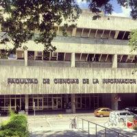 Foto tomada en Facultad de Ciencias de la Información (UCM) por Catarina B. el 6/21/2013