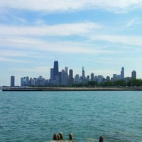 Photo taken at Chicago Lakefront by Alex L. on 9/5/2013