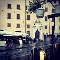 Photo taken at Trattoria Pizzeria Toscana by Gideon Y. on 10/1/2012