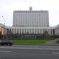 Photo taken at Russian Government Building by Андрей П. on 9/2/2012