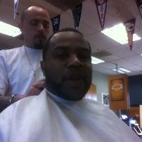Photo taken at Doonan's Barber Shop by Devon A. on 4/27/2012
