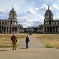 Photo taken at University of Greenwich (Greenwich Campus) by Noel S. on 4/22/2012