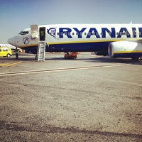 Photo taken at Rome Ciampino Airport by Francesco L. on 8/16/2012