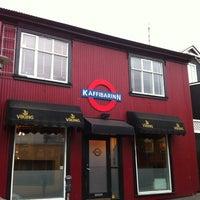 Photo taken at Kaffibarinn by David H. on 1/14/2011