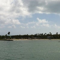 Photo taken at Bahia Honda Key by Charlotte S. on 11/20/2011