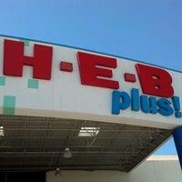 Photo taken at H-E-B plus! by Michael A. on 4/21/2012