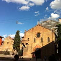 Photo taken at Piazza Santo Stefano by Bruno M. on 8/10/2011