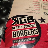 Photo taken at KGB: Kerry's Gourmet Burgers by Becky on 7/12/2012