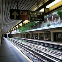 Photo taken at MTA Subway - Church Ave (B/Q) by Maurice F. on 7/25/2011