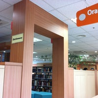 Photo taken at Busan English Library by hellen on 5/20/2012