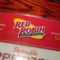 Photo taken at Red Robin Gourmet Burgers by Josh M. on 1/31/2012