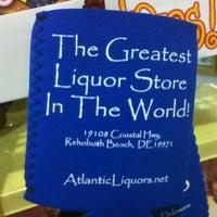 Photo taken at Atlantic Liquors by Pat G. on 8/19/2011
