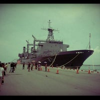 Photo taken at HTMS Chakri Naruebet by noom t. on 4/7/2012