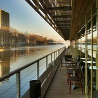 Photo taken at St Christopher's Inn Paris Canal by Roxana J. on 3/21/2011