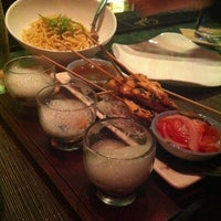 Photo taken at ANQI By Crustacean Gourmet Bistro & Noodle Bar by Olivia H. on 1/23/2012