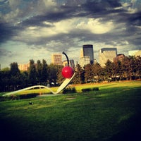 Photo taken at Minneapolis Sculpture Garden by Zach C. on 8/28/2012