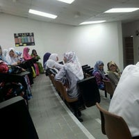 Photo taken at CNED Lecture Theater by yraah kecil T. on 1/4/2012