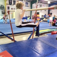Photo taken at J&R Gymnastics by Sharon G. on 1/14/2012