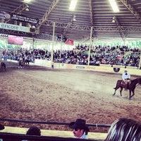 Photo taken at Lienzo Charro Santa Maria by Fernando G. on 8/31/2012