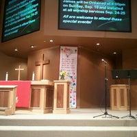 Photo taken at Hosanna! Lutheran Church (LCMC) by Chris M. on 9/18/2011