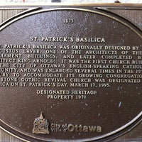 Photo taken at St. Patrick's Basilica by Audie on 10/27/2011