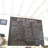 Photo taken at Boulevard Cafe by Sean L. on 6/24/2012