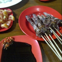 Photo taken at Sate Kambing Sari Sedap by lauw a. on 10/6/2011