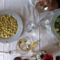 Photo taken at Antica Trattoria della Pesa by Mireille D. on 4/1/2011