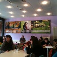 Photo taken at IULM University Bar by Daniele M. on 11/7/2011