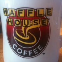 Photo taken at Waffle House by Ben R. on 12/10/2011