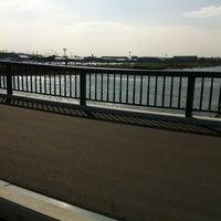 Photo taken at 新茂宮橋(しんもみやはし) by yukino555913 on 6/26/2012